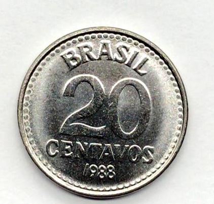20 Centavos 1988 fc