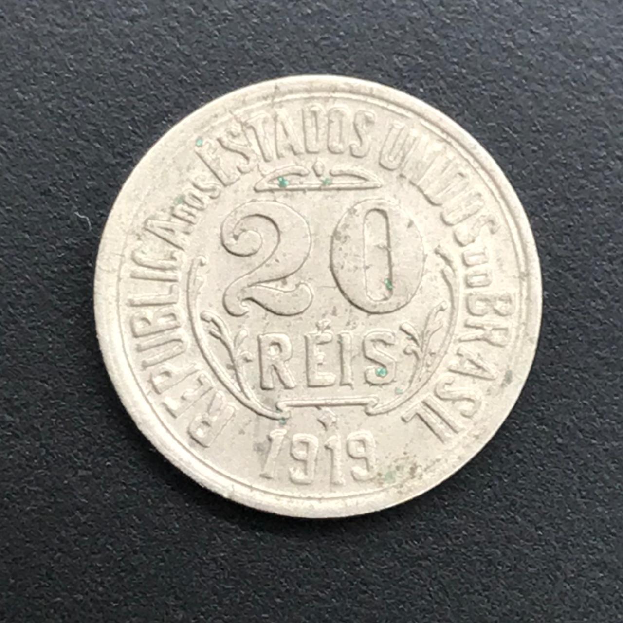 20 RÉIS 1919  MBC +