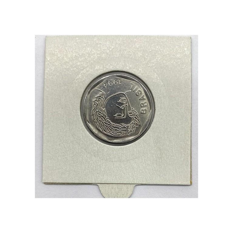 25 centavos 1994 reverso invertido