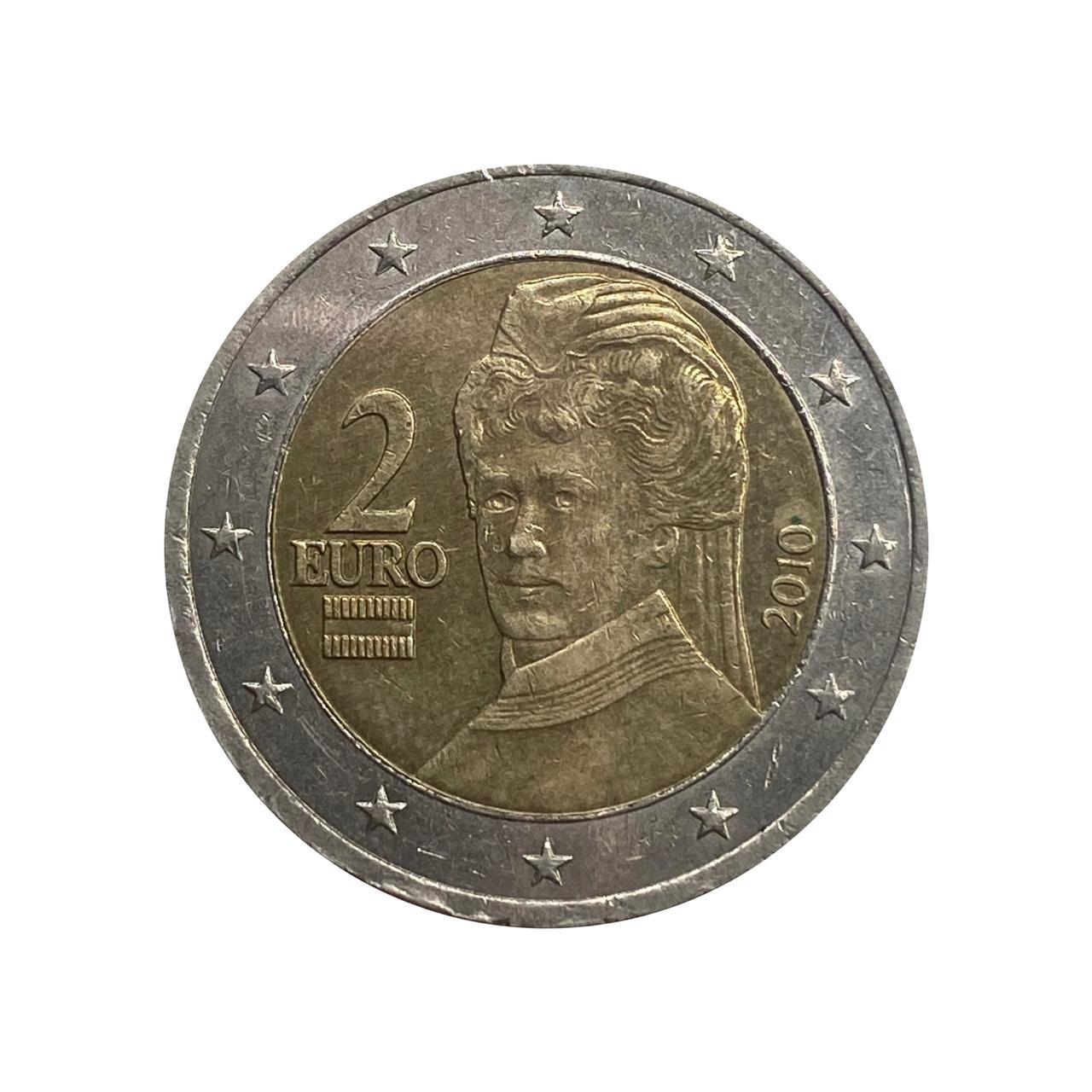 2 Euros Austria 2010 mbc