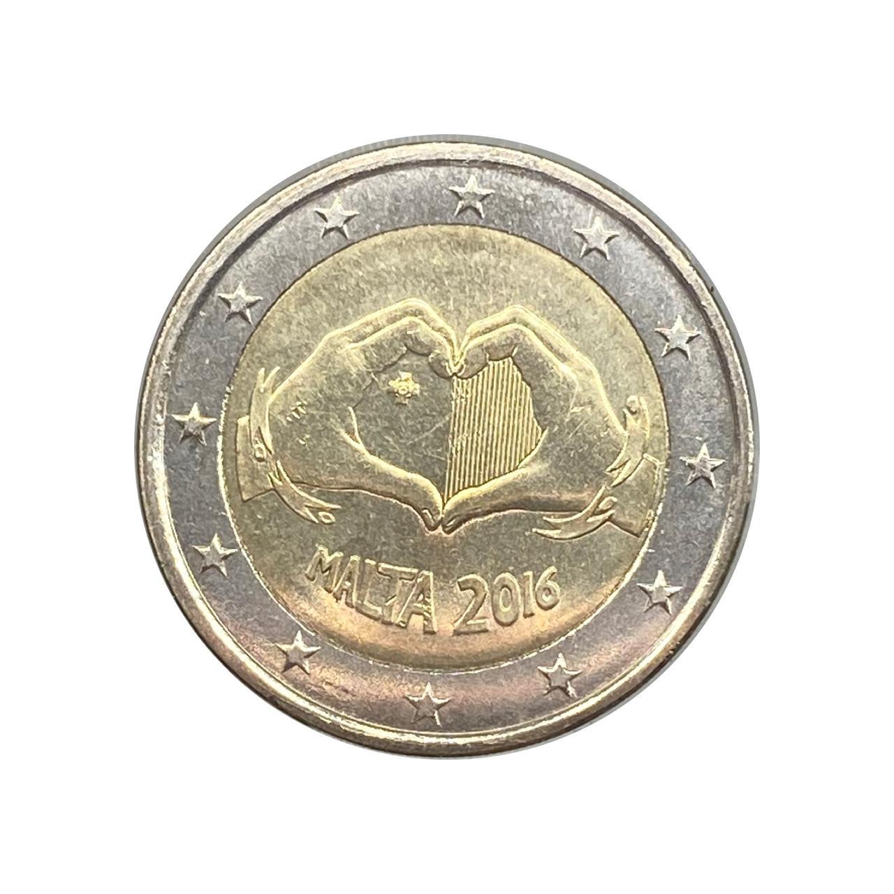 2 Euros Malta 2016 FC