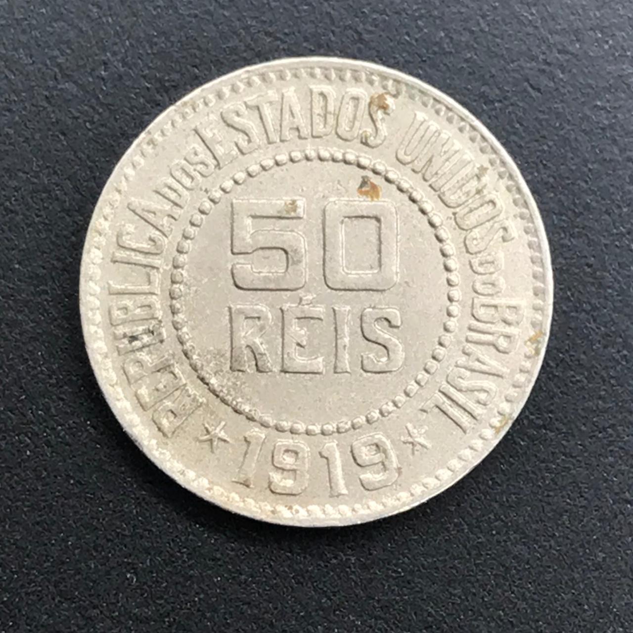 50 Reis 1919- mbc+