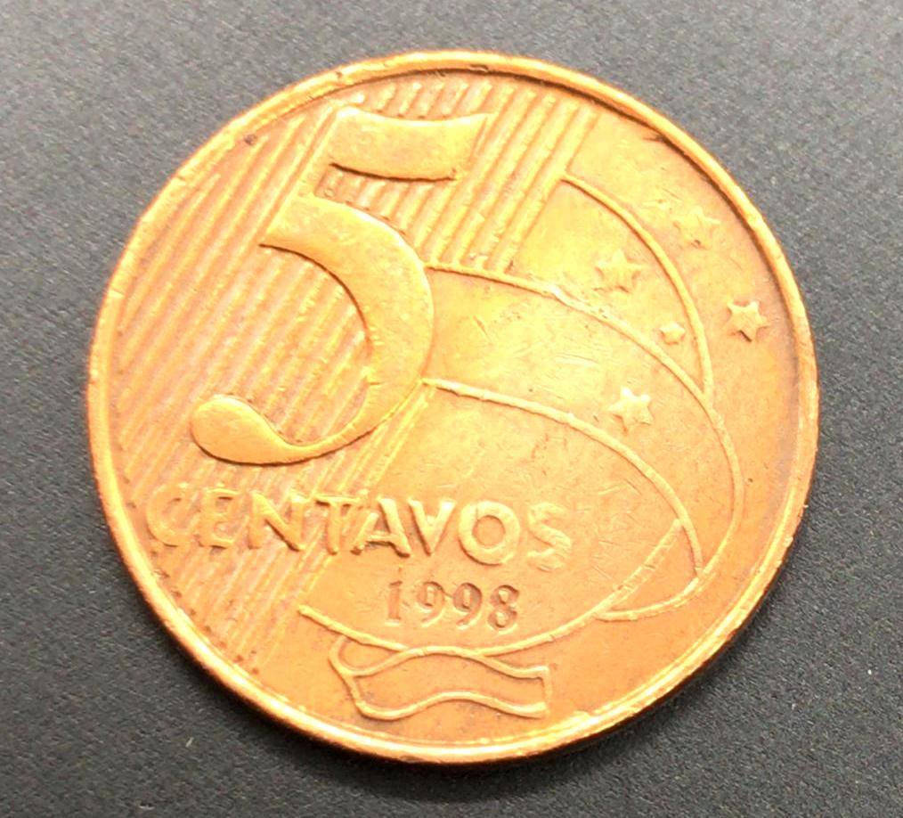 5 Centavos 1998 MBC