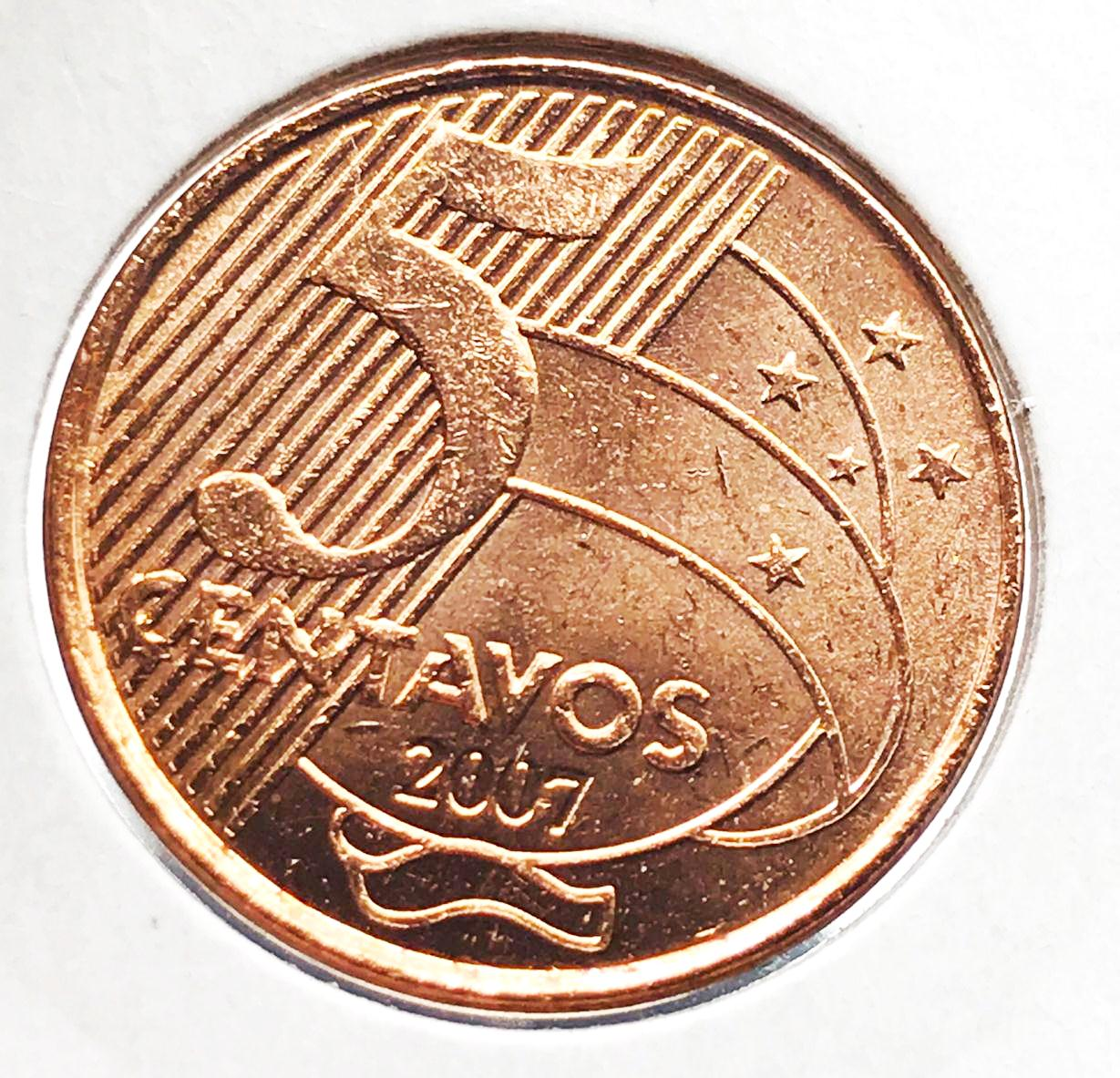 5 CENTAVOS 2007-FC
