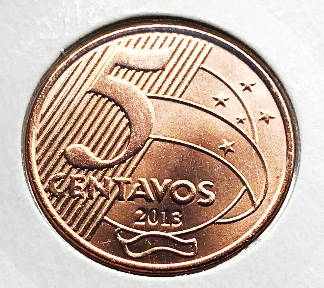 5 CENTAVOS 2013-FC