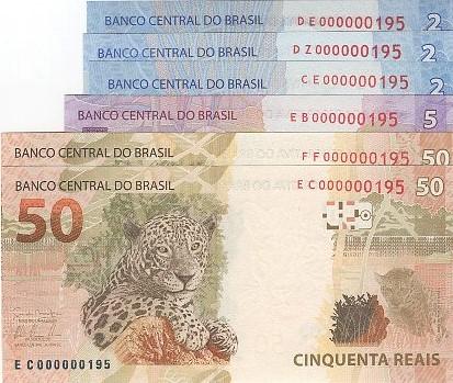 6 Cédulas Brasil Irmãs Final 195 FE