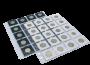 10 Folhas para Moedas em Coin Holders - Sem Abas (5x5)
