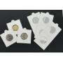 25 Coin Holders Leuchtturm (Branco)