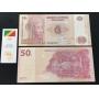 Cédula Congo 50 Francos 2007 FE