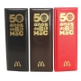 Estojo 50 Anos do Big Mac - McDonald