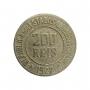 Moeda Brasil 200 Réis 1922 MBC