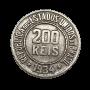 Moeda Brasil 200 Réis 1934 MBC