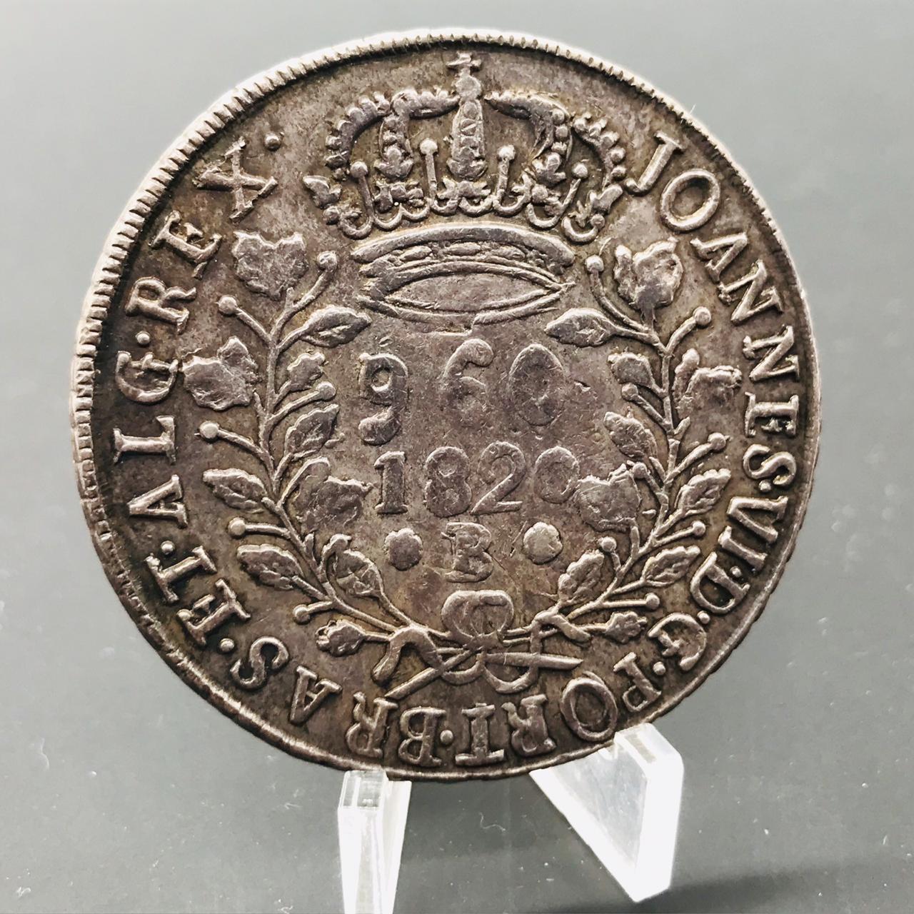 960 Réis 1820 B - Bahia