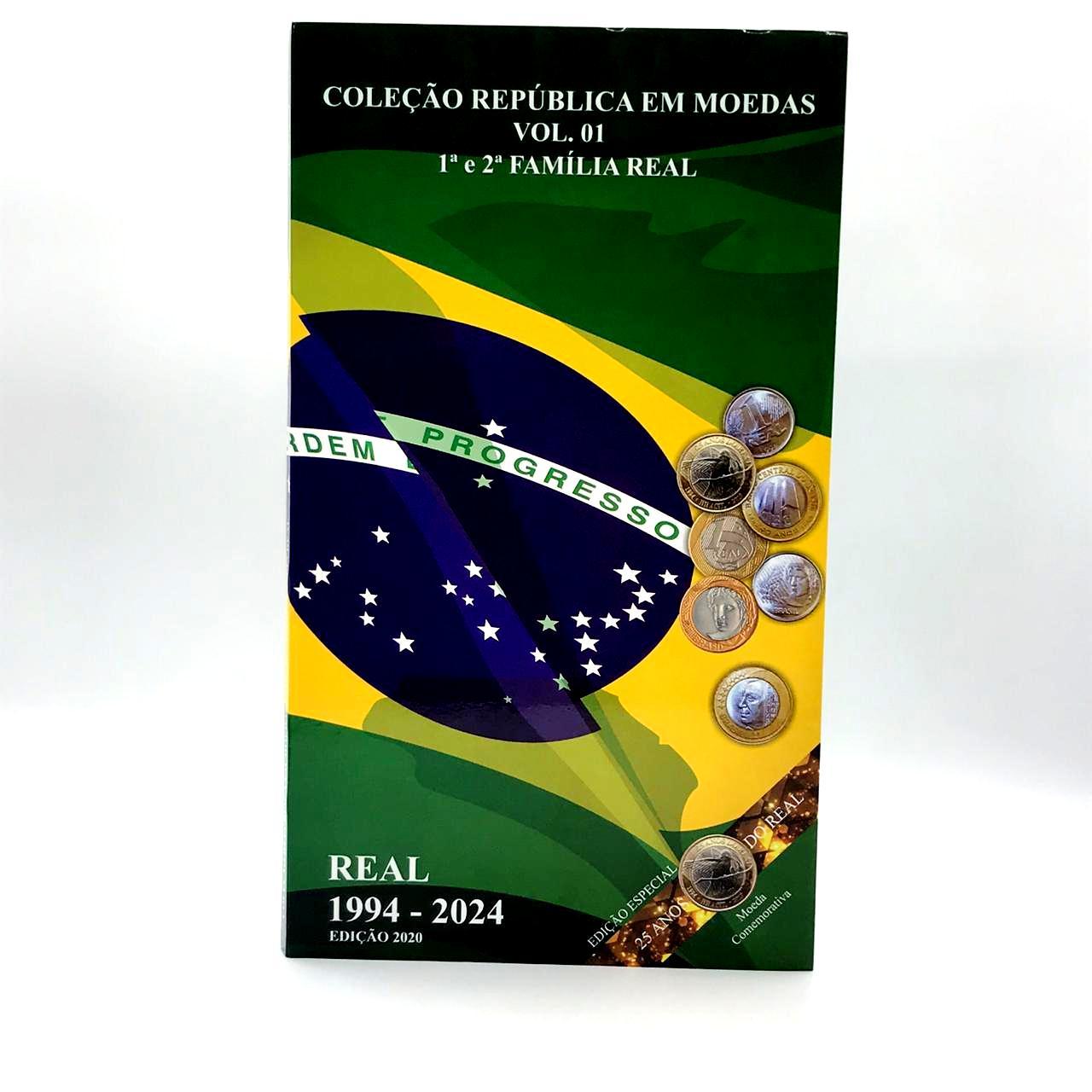 Album Coleção Familia do Real 1 e 2 Familia 1994-2024
