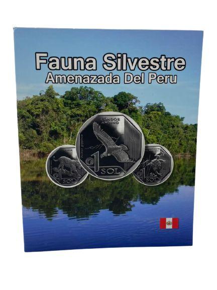 Álbum Completo Fauna Silvestre Ameaçada do Perú