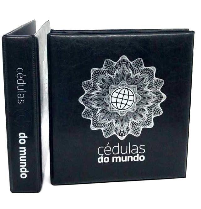 Album Fichário A4 Cédulas do Mundo - FCDM
