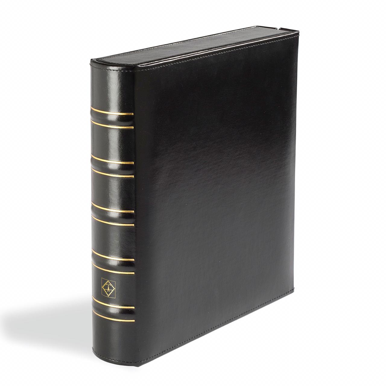 Álbum Leuchtturm Classic OPTIMA Box com fechadura