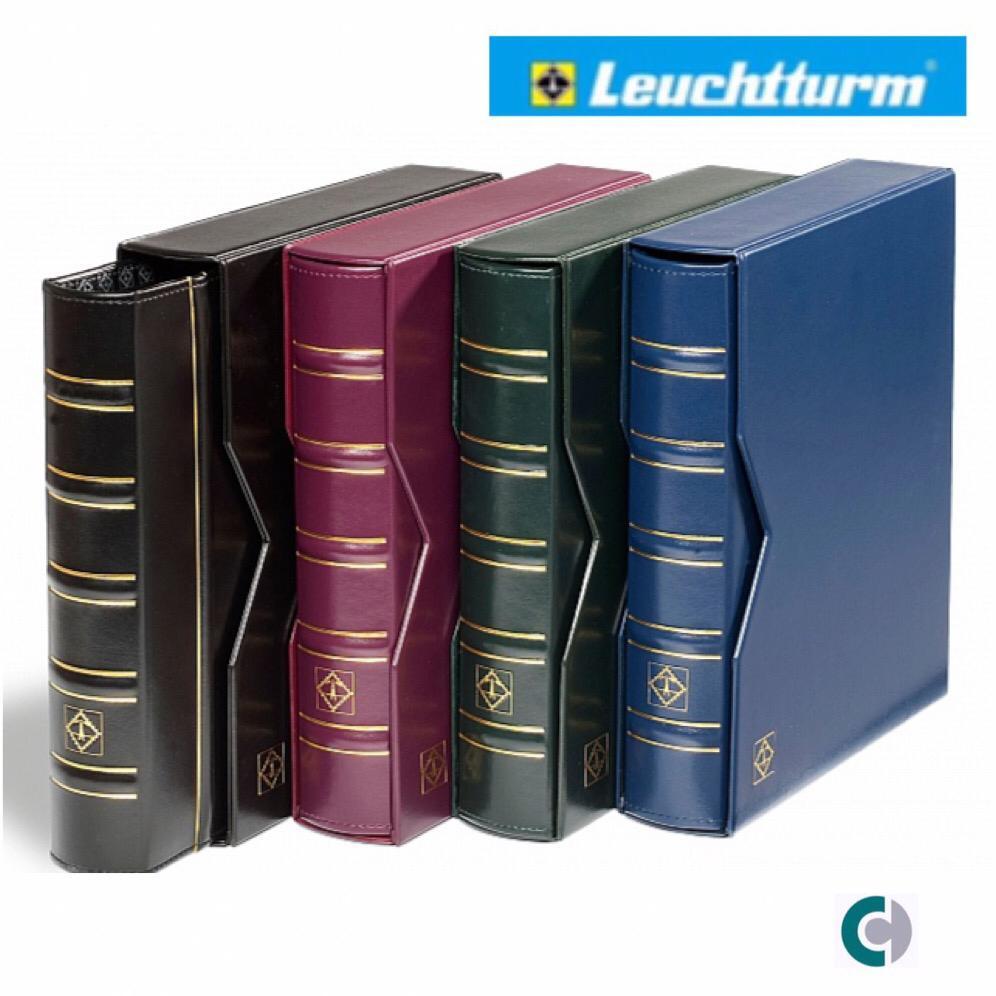 Álbum Leuchtturm Optima Classic Numismática / Filatelia