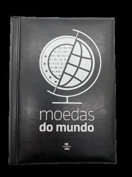 Álbum Moedas do Mundo com Erro