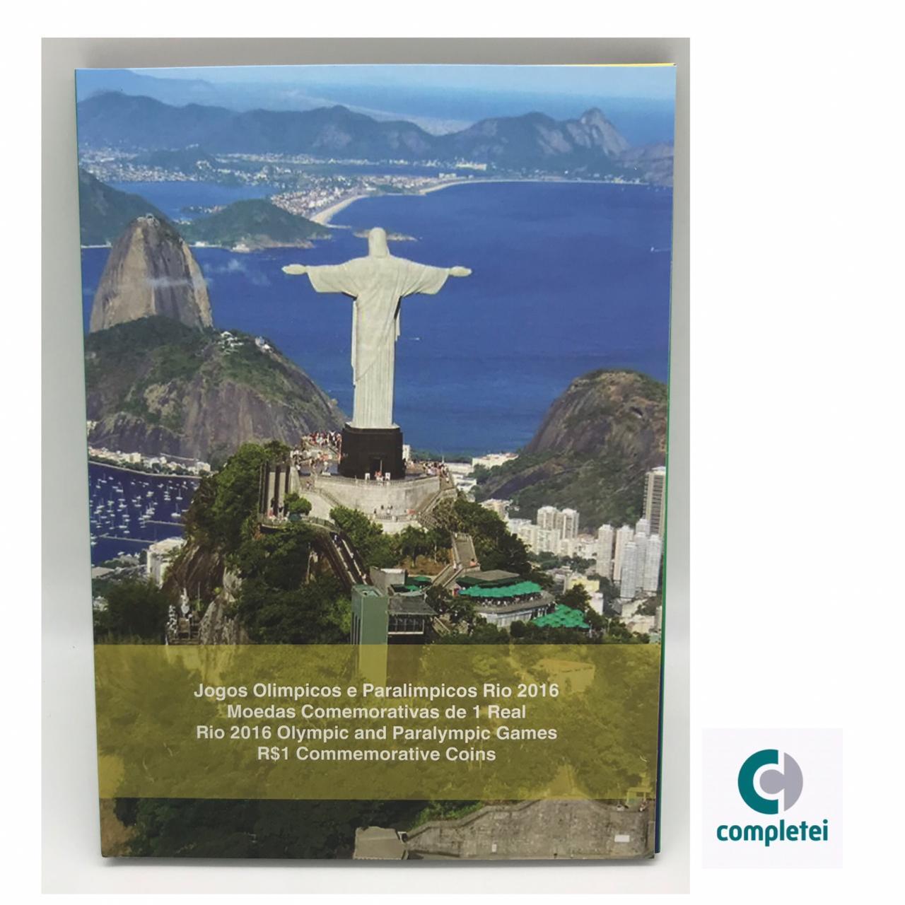 Álbum Olimpíadas Rio 2016 C/ 16 capsulas