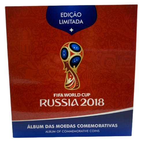 Blister Rússia com selo holográfico  Moedas FC