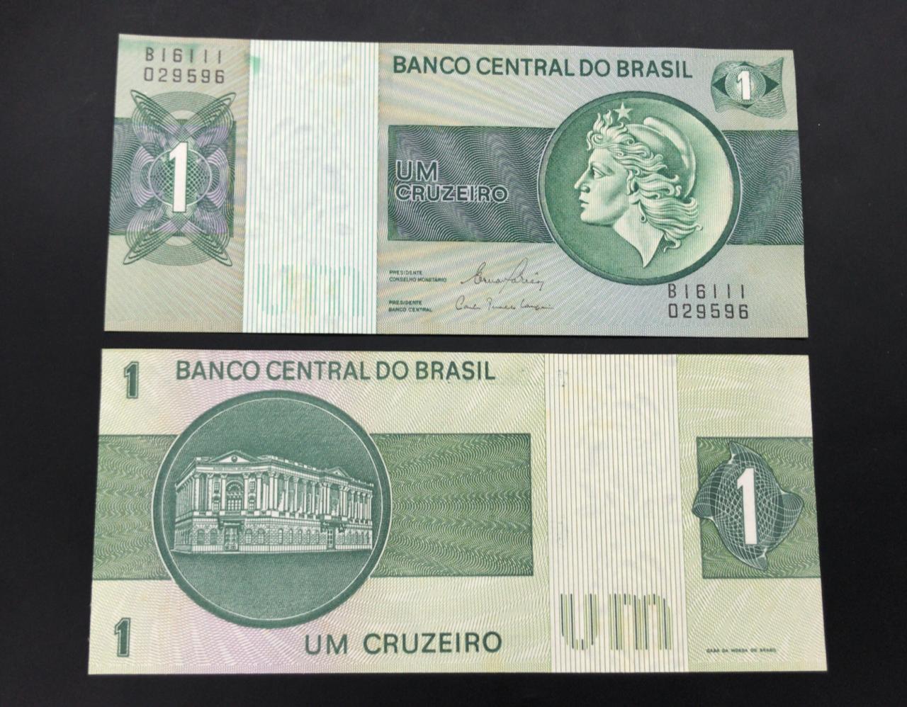 C132 - 1 Cruzeiro (Flor de estampa)