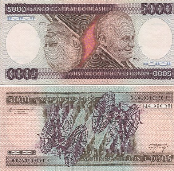 C168-5.000 Cruzeiros 1984 FE