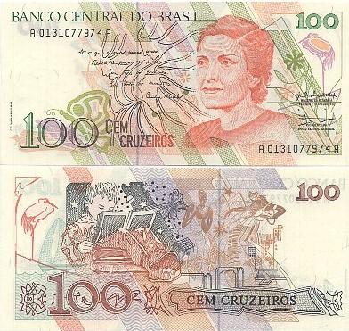 C214 - 100 Cruzeiros Cecília Meireles FE
