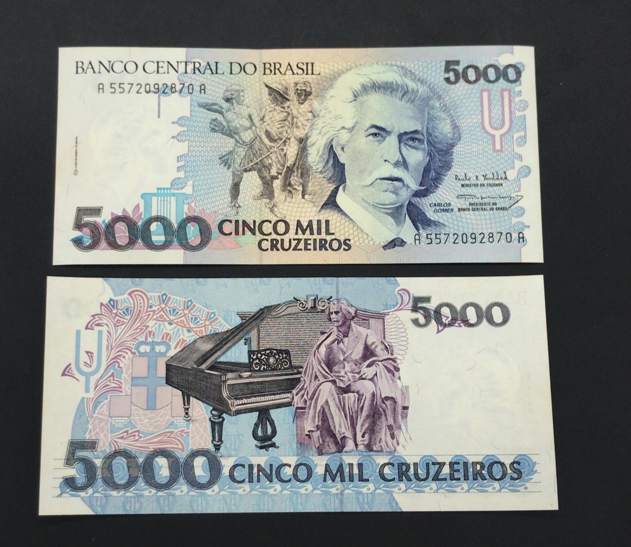 C221 - 5 mil Cruzeiros (FE)