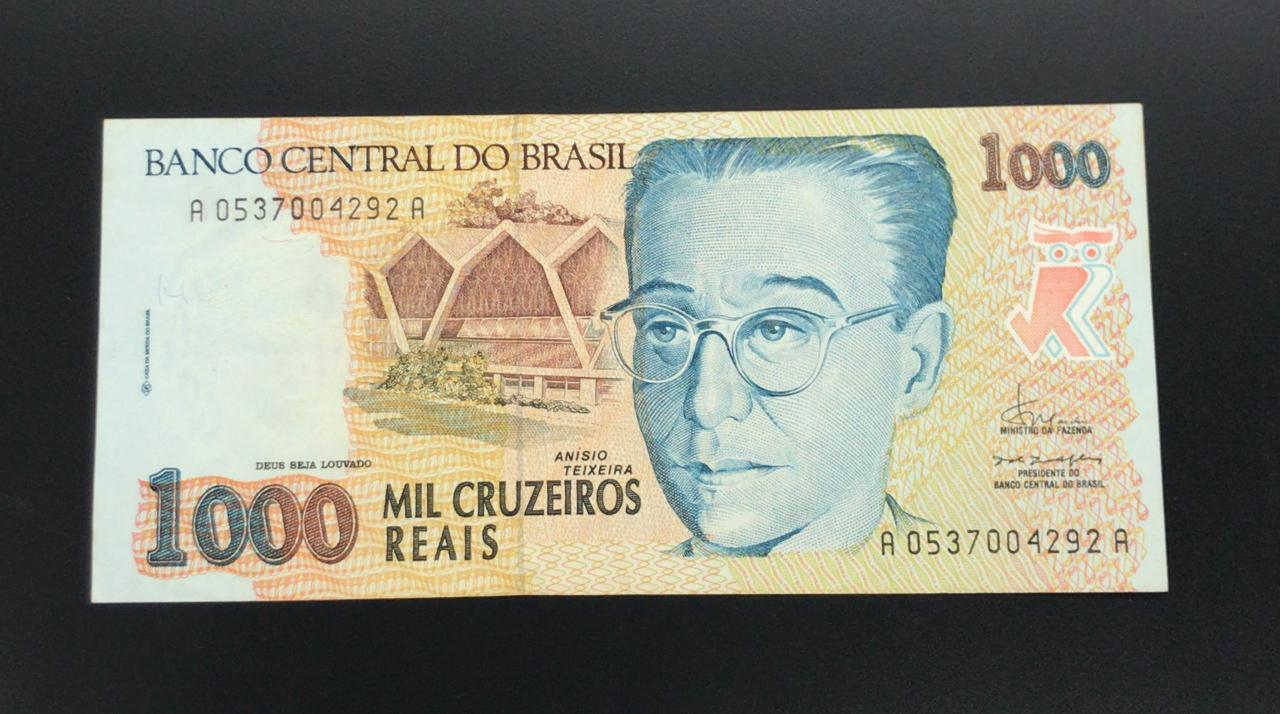 C238 1000 CRUZEIROS REAIS