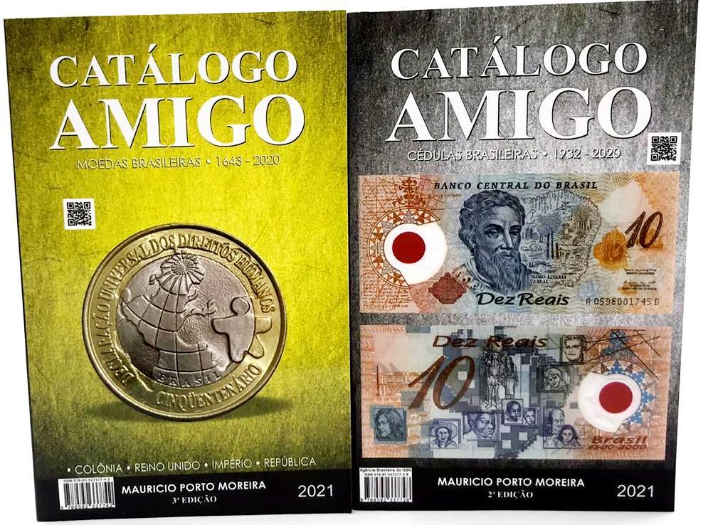 Catálogo Amigos de Moedas 1643-2020 e Cédulas 1932-2020