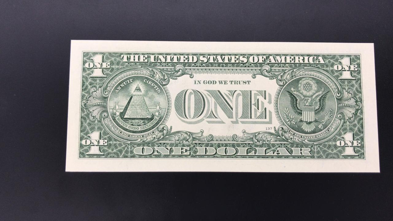 Cédula 1 Dollar FE