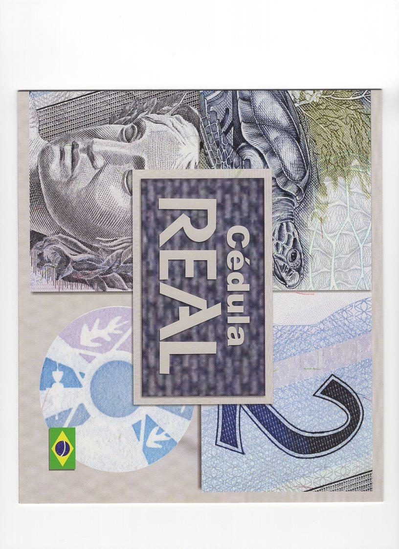 Cédula Brasil 2 Reais FA (Meirelles/Ilan) FE