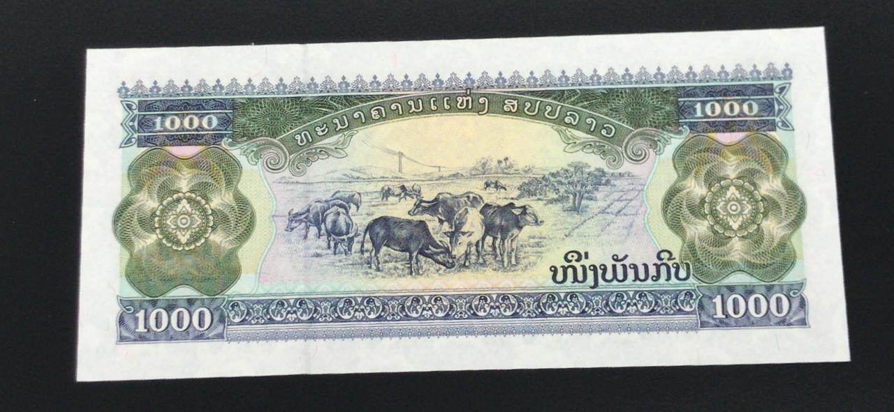 Cédula Laos 1000 Kips -FE