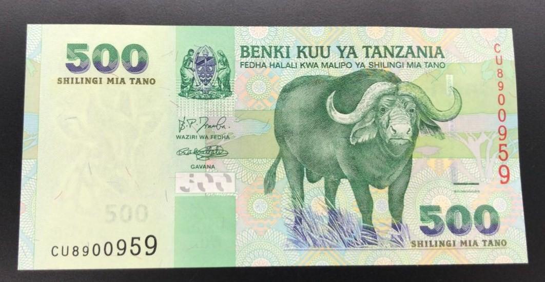 Cédula Tanzania-Flor de Estampa