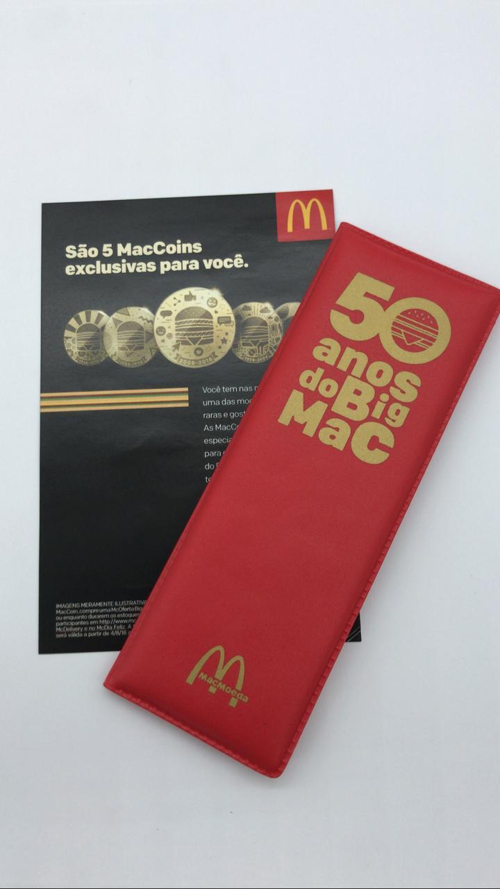 Coleção McDonald's com MacMoedas (MacCoins)