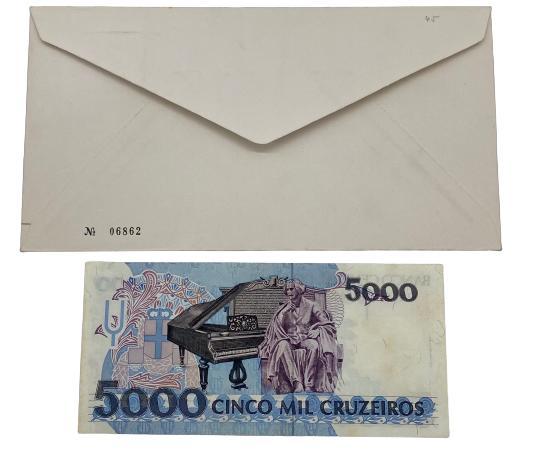 Envelope 1° dia de Circulação Homenagem a Carlos Gomes