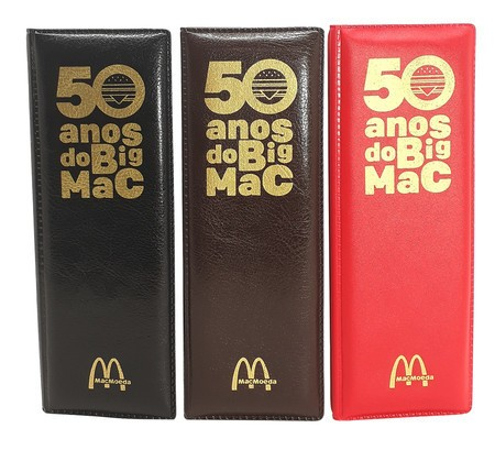 Estojo 50 Anos do Big Mac - McDonald's