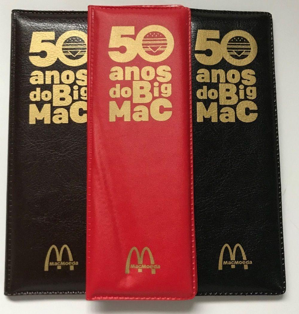 Estojo Mac Moeda (Moedas MC Donald's) - Vazio