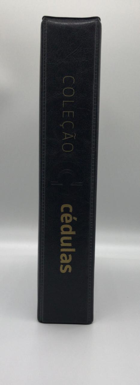 Album Fichário A4 Coleção de Cédulas - FCDC