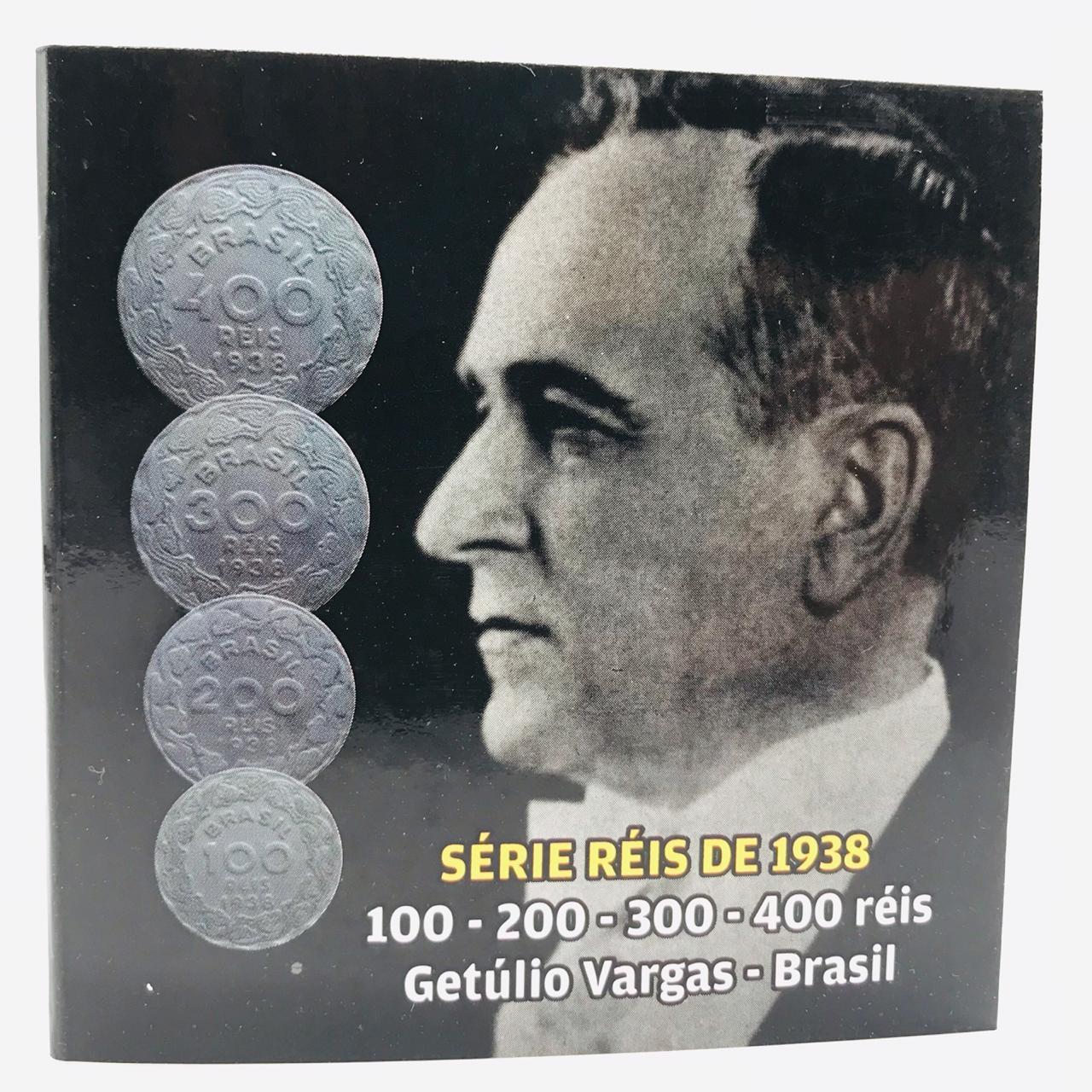 Folder da Série Gertulio Vargas 1938 mbc