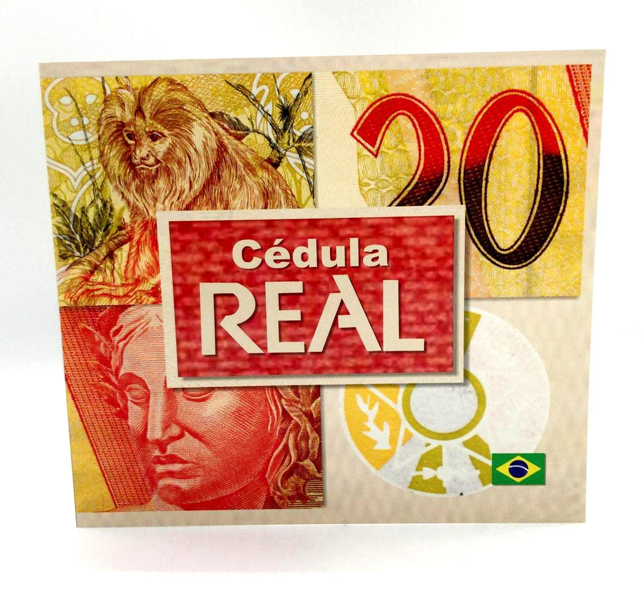 FOLDER DE 20 REAIS