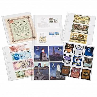 50 Folhas Leuchtturm para Cartão Telefônico No 358077