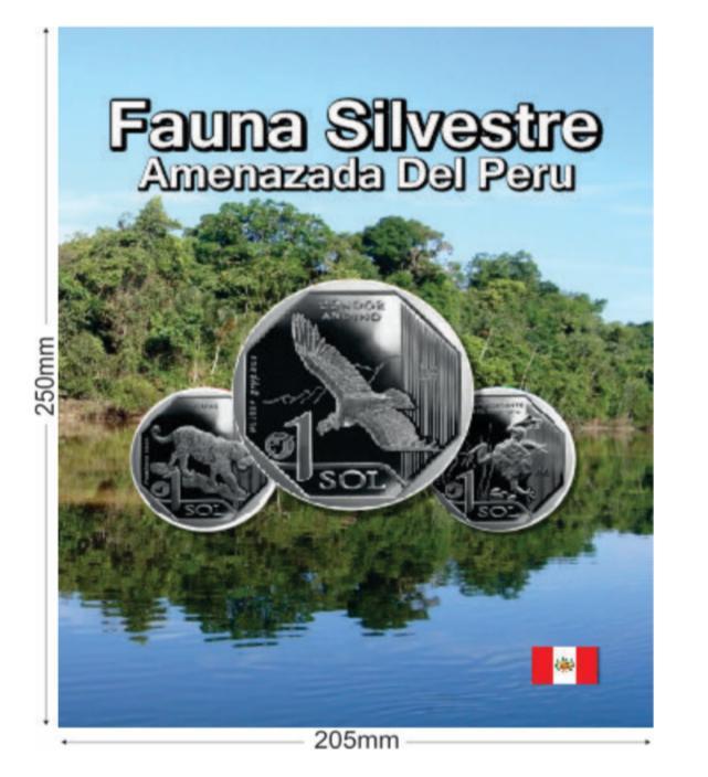 Lançamento Álbum para moedas do Peru Fauna Silvestre