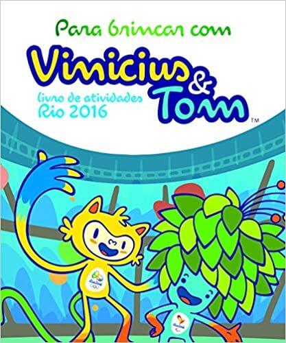 Livro de Atividades Oficial Rio 2016 Vinicius e Tom