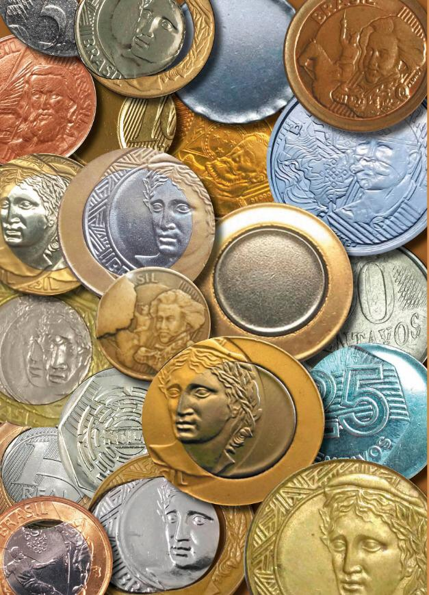 Livro Manual de erros em moedas 2: Defeito e anomalias em moedas brasileiras / Edil Gomes
