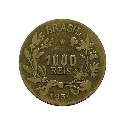Moeda 1000 Réis 1931. MBC