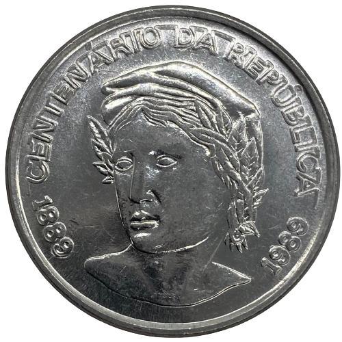Moeda 1 Cruzado Novo - Centenário da República 1889-1989 Sob
