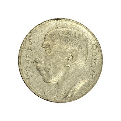 Moeda 5000 reis 1938 SOB