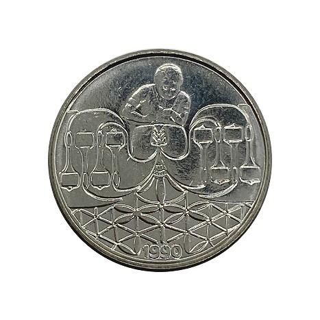 Moeda 50 centavos 1990 fc
